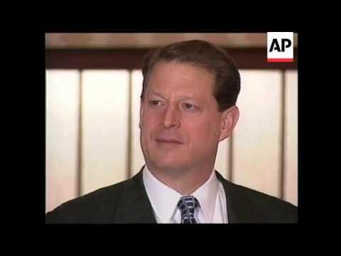 JAPAN: TOKYO: US VICE PRESIDENT AL GORE VISIT UPDATE (2)