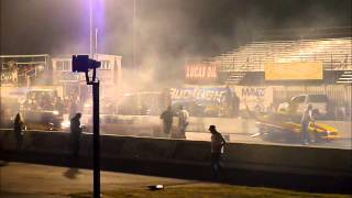 Robert Overholser in California Hustler Wins Saturday Night Nitro