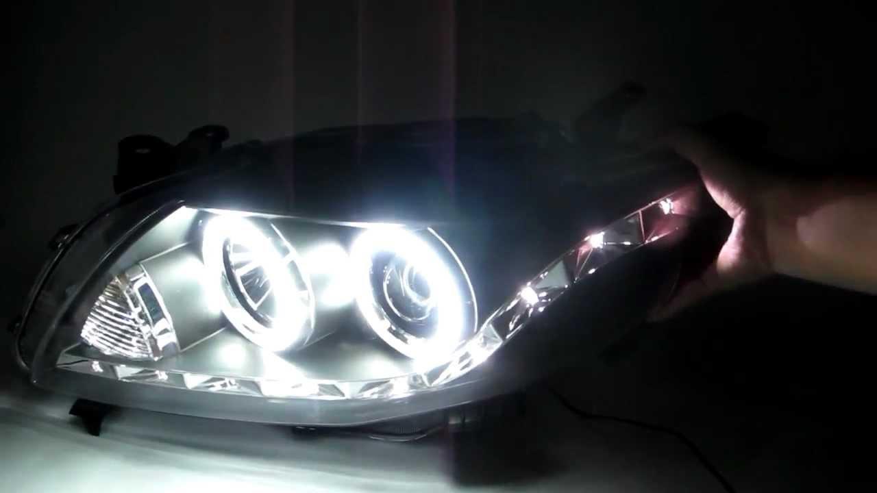 Toyota Corolla 4dr 2006 2009 Ccfl Angel Eye Projector