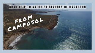 Camposol to Naturist Beaches Spain #camposolspain #expatinmazarron