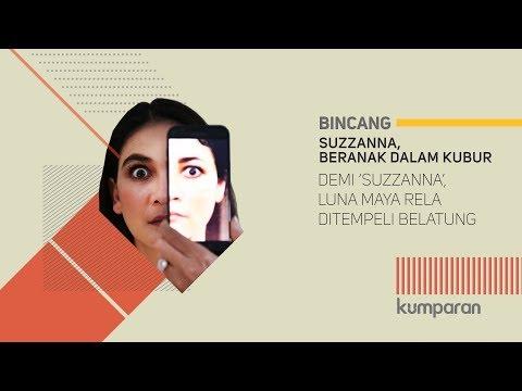 download lagu Demi 'Suzzanna', Luna Maya Rela Ditempeli Belatung gratis