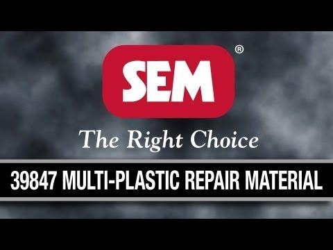 SEM Products. Inc. - 39847 Multi-Plastic Repair Material