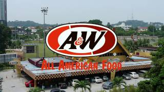 A&W Grandpa Burger Combo Meal Review & Drive Thru Experience