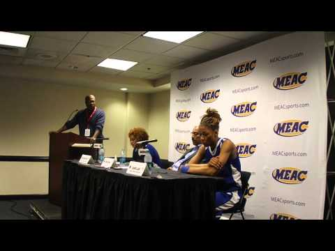 Coppin State WBB Post-game: Savannah State 66, Coppin State 52 in MEAC Tournament Quarterfinals