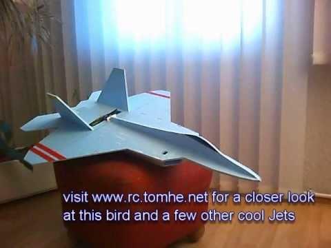 R/C Foamboard F-22 Raptor SB 003.wmv