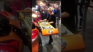 Chicago auto show DJ 2019
