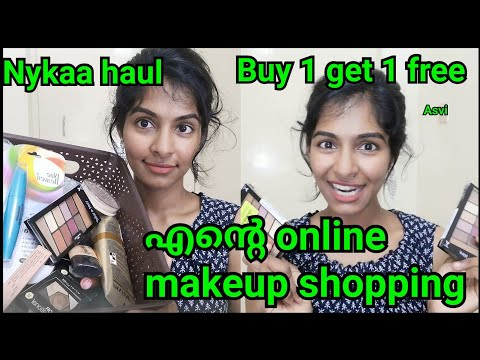 Online makeup shopping|Mini review|Nykaa haul|Nude lipsticks for all skintones|Malayalam|Asvi