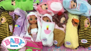 Baby Born Surprise Doll Unboxing and Our Full Collection