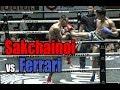 Muay Thai - Sakchainoi vs Ferrari (ศักดิ์ชัยน้อย vs เฟอรารี่), Lumpini Stadium, Bangkok, 5.1.18.