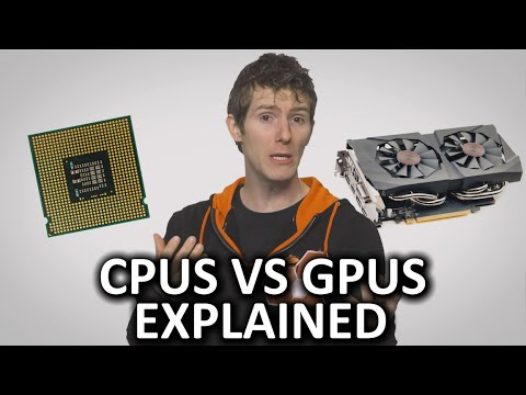 CPUs and GPUs are both silicon microprocessors, so why are they suited for such different tasks inside your PC? Freshbooks message: Head over to http://freshbooks.com/techquickie and don't...