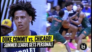 DUKE COMMIT Jalen Johnson Gets Tested by TOUGHEST Chicago Squad! Full Highlights vs Morgan Park!