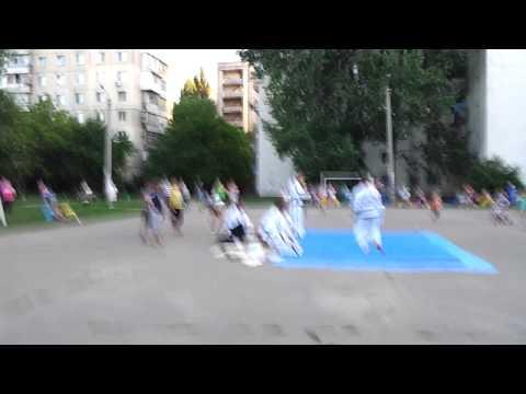 Тэквондо на улицах Одессы 2012