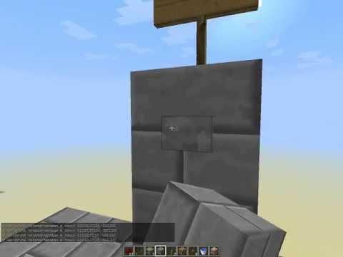 Как сделать лифт на командных блоках