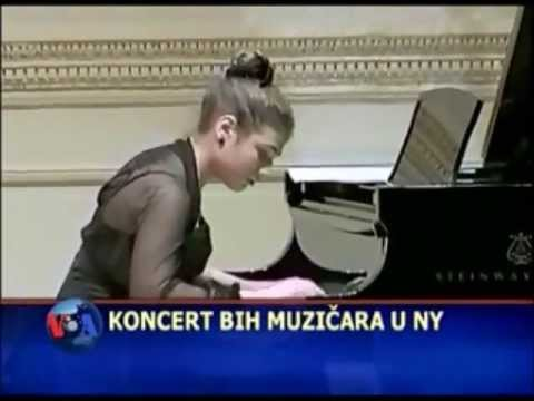 Naomi Druskic play in CARNEGIE HALL (January 2013),TV VOA  News