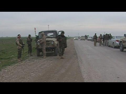 Iraqi Kurds free hundreds of trapped Yazidis on Mount Sinjar