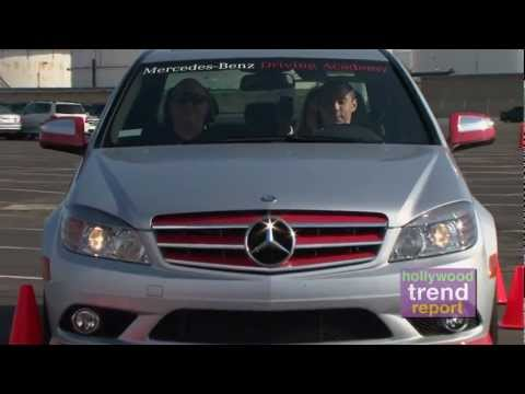 HOLLYWOOD TREND REPORT TV with ANN SHATILLA: MERCEDES BENZ DRIVING ACADEMY