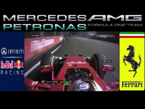 f1 2015 singapore p2 Vettel radio