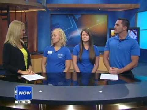 Fitness Friday - Fighting Childhood Obesity - 3/2/12.flv