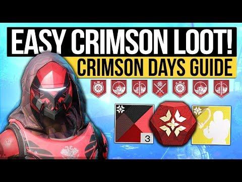 Destiny 2 News | CRIMSON DAYS TRAILER! - Fast Crimson Engram Trick, New Rewards & How to Get Them!