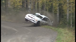 SM Lake City Rally 2017, Lempäälä (crash & action)