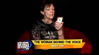 Meet the voice behind Siri