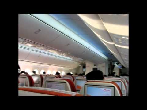 Air India's 787-8 Dreamliner VT-ANH Inaugural Flight to Chennai
