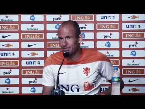 Arjen Robben Apologizes For Diving Vs. Mexico