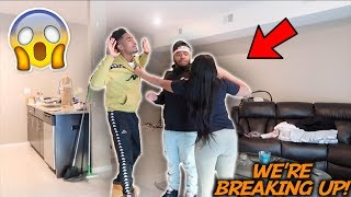BREAKING UP WITH JASS IN FRONT OF HER BIG BROTHER *PRANK* ‼️ tay and jass