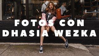 Sesión de fotos con Dhasia Wezka