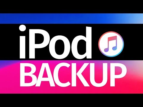 How to Backup iPod Touch using iTunes in your computer (PC & Mac) iPod touch 6th gen