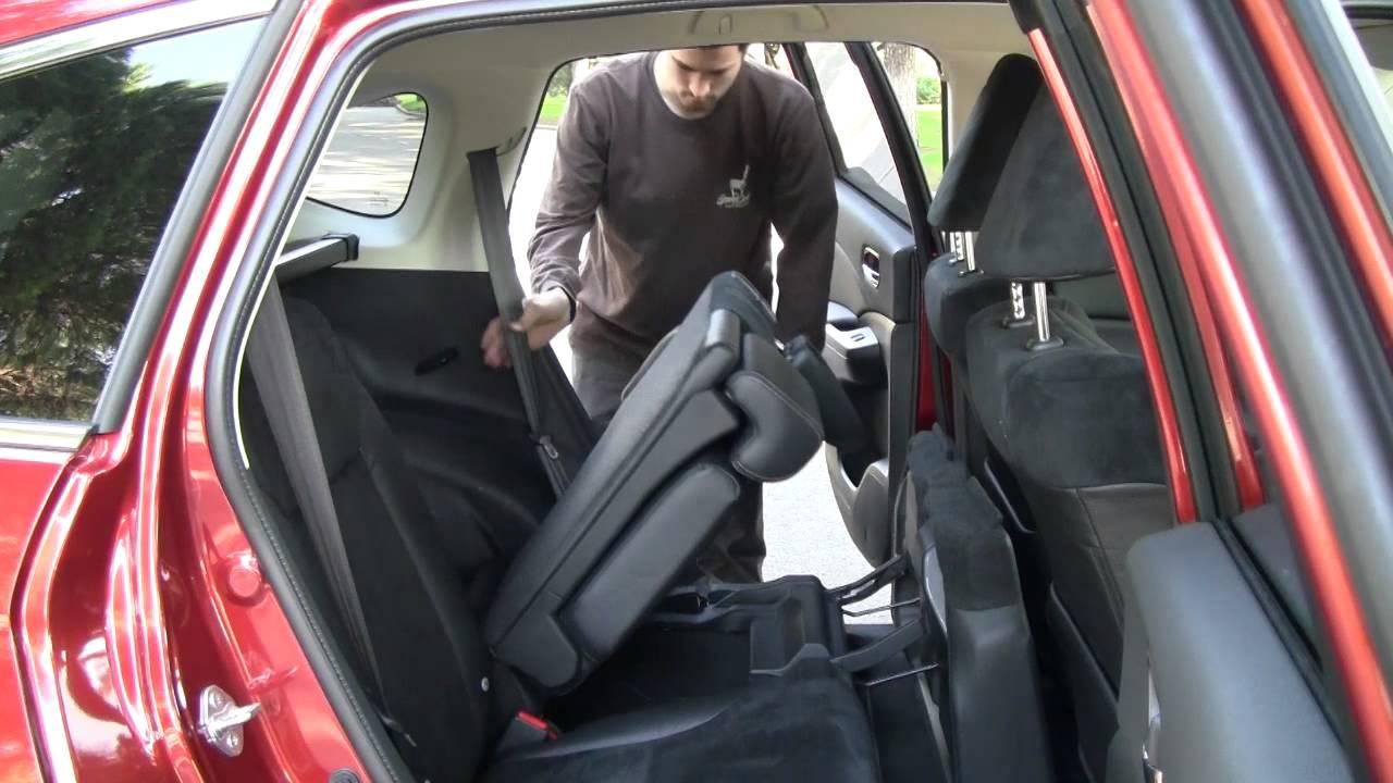 Honda Cr V Asientos Traseros Abatibles Youtube