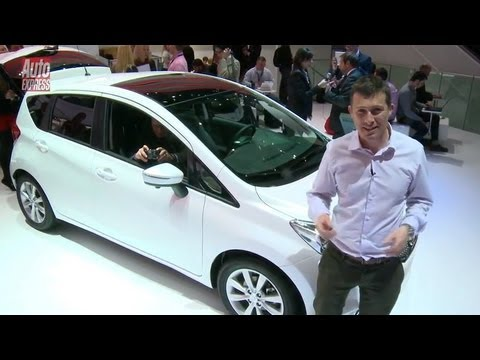 New Nissan Note at the 2013 Geneva Motor Show - Auto Express