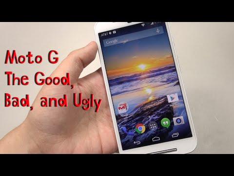 Moto G (2nd Gen): The Good. Bad & Ugly