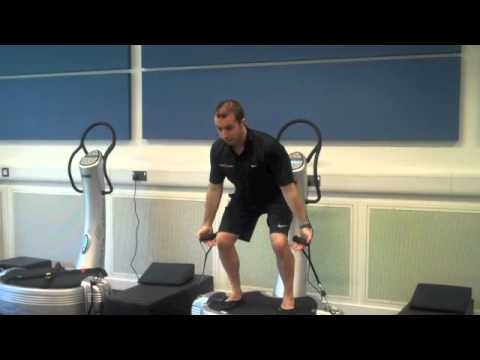 Exercise Demo: Power Plate Clean and Press Image 1