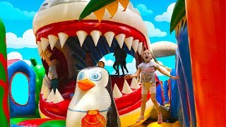 Baby Shark | playground | climb and jump! Animal Songs | Marianna Songs for Children