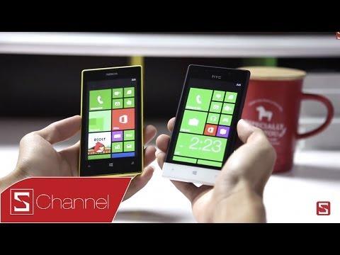 Schannel - Nên chọn mua Lumia 520 hay HTC 8S - CellphoneS