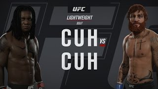Moses Cuh vs Cuh? WTF! EA Sports UFC 2 Ultimate Team Gameplay