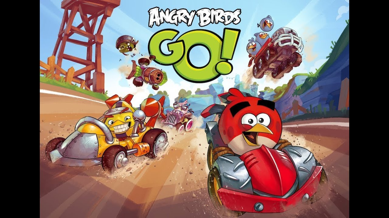 Angry Birds Go! Review & Gameplay (Jocuri Android - LG G Pad 8.3 ...