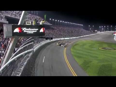 Amazing Finish! Kyle Busch Wins - 2012 Budweiser Shootout