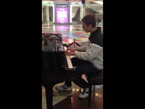 Belarus Minsk Stolica Shopping Center Piano Show