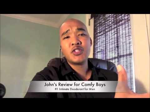 Comfy Boys Intimate Deodorant for Men - John's Review