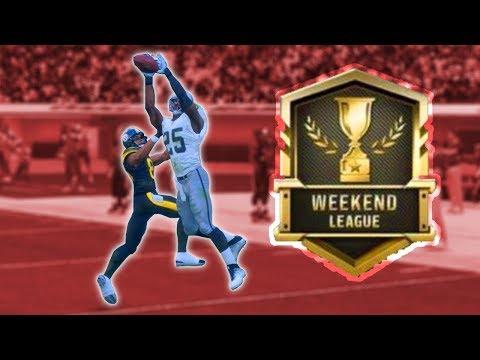 I THREW 5 INTERCEPTONS IN 1 GAME | WEEKEND LEAGUE RECAP | Madden 18 Weekend League