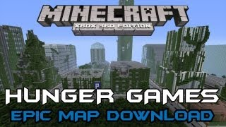 AZTEC CITY EPIC HUNGER GAMES MAP DOWNLOAD | BEST OF 1.8.2 | Minecraft Xbox