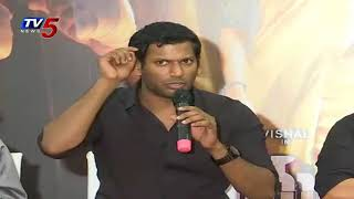 Vishal Speech @ Abhimanyudu Movie Press Meet | Arjun | Samantha