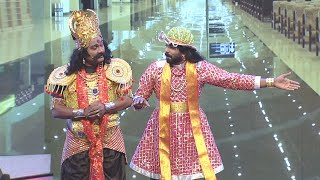 #ThakarppanComedy I Yamadevan from Yamapuri I Mazhavil Manorama
