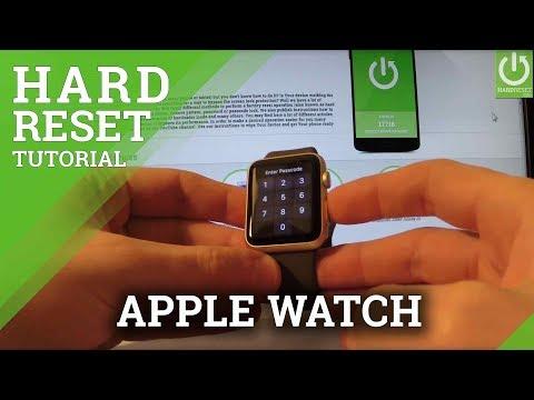 Apple Watch Hard Reset / Remove Password / Restore Settings