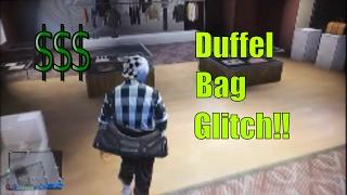 How to get the duffel bag on any outfit GTA 5 Online (All consoles) *WORKING 2017*