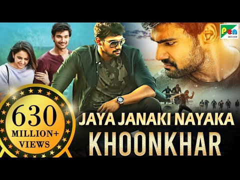 Jaya Janaki Nayaka KHOONKHAR | Full Hindi Dubbed Movie | Bellamkonda Sreenivas, Rakul Preet Singh thumbnail