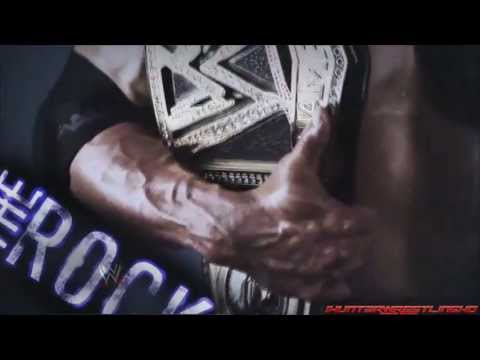 WWE : The Rock Custom Titantron 2013 - Electrifying HD