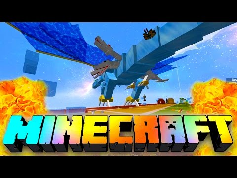 Minecraft RAINBOW LUCKY BLOCK RACE CHALLENGE! Crazy Craft, The Queen, Race Challenge)